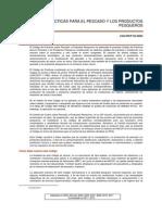 CODEX ALIMENTARIUS - Practicas Para Productos Pesqueros CAC 52-2003
