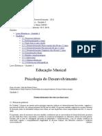 Livro Eletronico Unidade 3 Psicologia Do Desenvolvimento