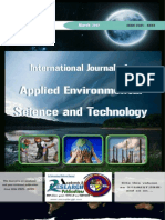 International Journal of Applied Environmental Science And Technology