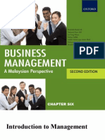 Chapter 6 - PPT Introduction to Management
