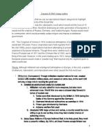 Causes of Ww 1 Essay Outline