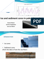 Ice and sediment cores in paleoclimatology