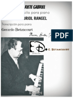 RIETE GABRIEL. Pasillo. Oriol Rangel. Transc. piano G. Betancourt.