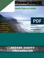 acess cavity preparation