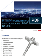 ABB Guide on Thermowell Calculations