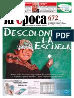 Nº 672 - Especial Educación - Mayo 2015