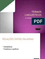 Semântica Lexical PPT 2