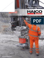 HALCO DTH Drill Tools User Guide