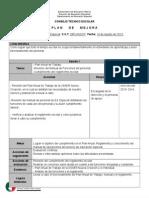 CTE Plan de Mejora 2013-2014
