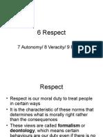 6 10 Respect