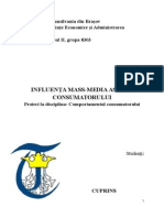 Influenta Mass Media Asupra Consumatorului Www.student-Info.ro