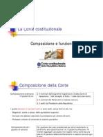 La Corte Costituzionale - Composizione e Funzioni