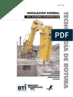 Pica Roca 150-4062 - Rockbreaker Installation Manual Spanish