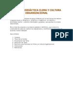 Cartilla Didáctica Clima y Cultura Organizacional