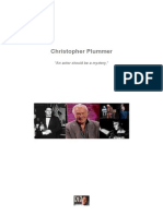 Christopher Plummer - An actor should be a mystery