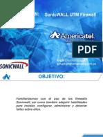 Capacitación SCapacitación SonicWALL AMT OFICIAL.pdfonicwall Amt Oficial