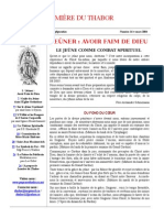 Lumiere du Thabor No. 16, mars 2004.
