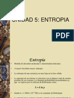 UNIDAD 5 entropia