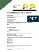 Ficha Tecnica Casco Dde Seguridad 3m H-700