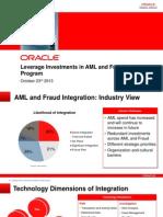 Oracle AML_Fraud Press Ppt