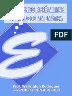 PRÉ-TÉCNICO E PRÉ-MILITAR GRATUITO DE MATEMÁTICA
