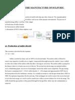 Sulfuric Acid Manufacturing Process