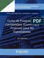Contabilidad Economía y Finanzas Para No Contadores