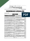 Normas Legales del Peru 22.mayo.2015