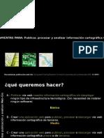 Herramientas Publicación Gisweb
