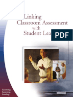 ETS (2003) Linking Classroom Assesment With Students'Learning