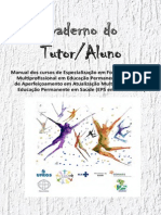 Caderno da Tutoria do Curso EPS em Movimento