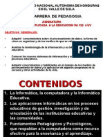 Plan Informatica Educativa 2014