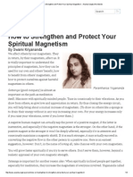 How to Strengthen and Protect Your Spiritual Magnetism - Ananda Sangha Worldwide