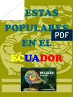 Fiestas Popúlares en El Ecuador