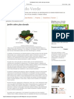 Architetando Verde_ Jardim Sobre Piso Elevado
