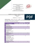 Formato de Autoevaluación Sesion 1 y 2 de 8--3°