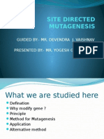 SITE DIRECTED MUTAGENESIS.pptx