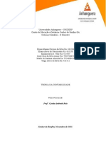 ATPS - Teoria Da Contabilidade