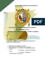 Informe Nº 01 - Química General AI