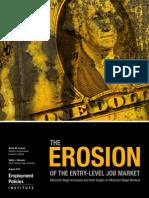 EROSION OF THE ENTRY-LEVEL JOB MARKET