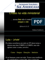 Crises Na Vida Ministerial - FTSA