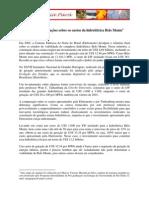 Algumas observações sobre os custos da hidrelétrica Belo Monte