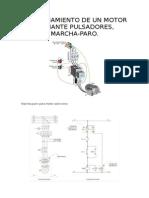 Funcionamiento de Un Motor Mediante Pulsadores