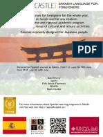 Publicidad de Cursos de Español en Toledo
