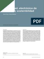 Electricidad, Electrónica de Sostentabilidad