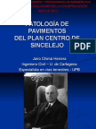 Patologia de Pavimentos Plan Centro 1