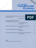 116514881 the Journal of Transpersonal Psychology Vol 25-1-1993 PDF