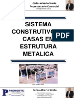 Sistema Construtivo de Casas em Estruturas Metalicas