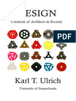 Ulrich - Design, Creation of Artifacts in Society