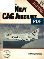 Colors & Markings of US Navy CAG Aircraft Part 2 Attack Aircraft a-6 Intruder a-7 Corsair II